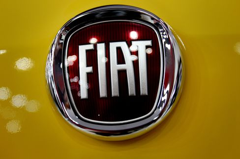 Fiat Profit Rises 12% as Chrysler Gains Offset Europe Losses