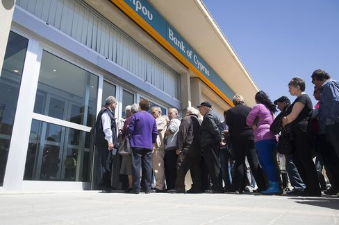 Cypriot Bailout Didn't Cause Euro-Area Deposit Flight, Data Show