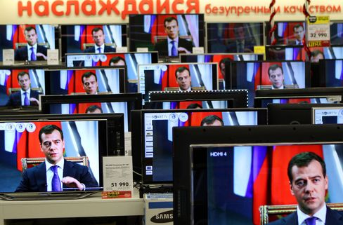 Russia's M.video Seen Extending Gains With Time Machine