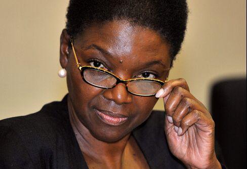 UN's Emergency Relief Coordinator Valerie Amos