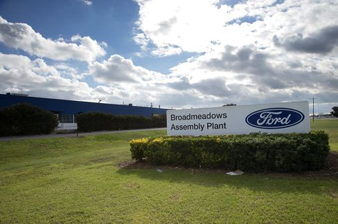 Ford to Close Australian Car Plants After 9 Decades on Costs