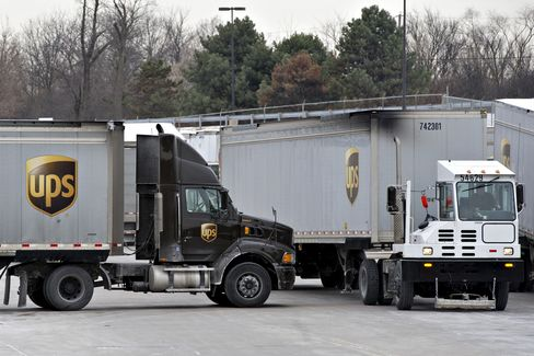 UPS Cooperating With Antitrust Probe on Consultants