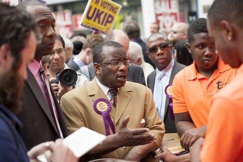 UKIP Candidate for Croydon North Winston Mackenzie