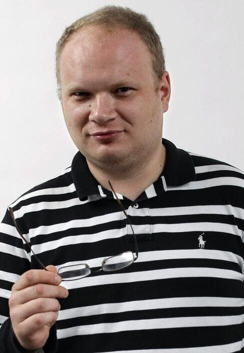 Kommersant's Reporter Oleg Kashin