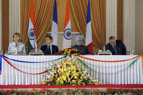 India, Areva Sign 7 Billion-Euro Contract