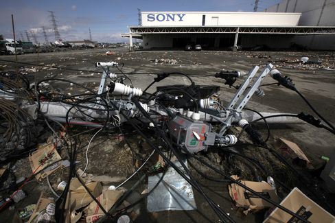 Sony, Nikon Plants Knocked Out by Aftershock
