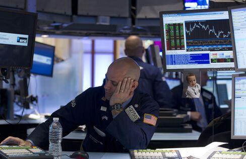 Euro, Stocks, Commodities Decline