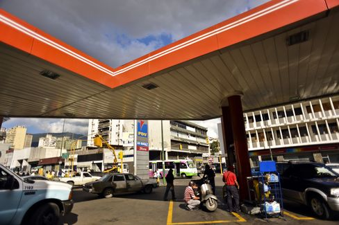 Petroleos Gas Station In Caracas