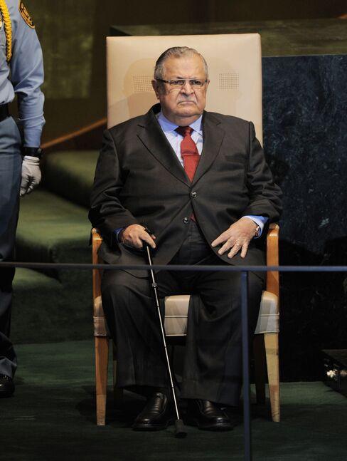 Iraq's President Jalal Talabani