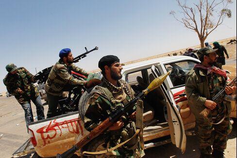 Libya Rebels Urge More NATO Force to Avert Misrata Massacre