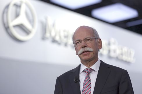 Daimler AG Chief Executive Officer Dieter Zetsche