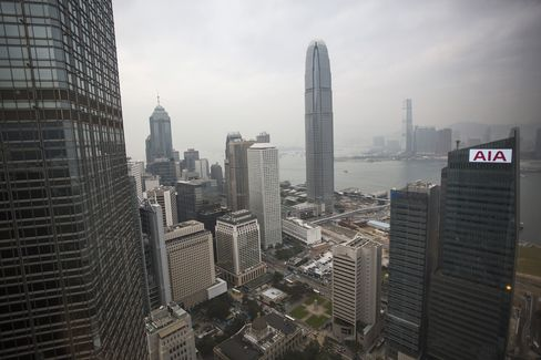Hong Kong Fund Management Grew 39% to Record Last Year, SFC Says