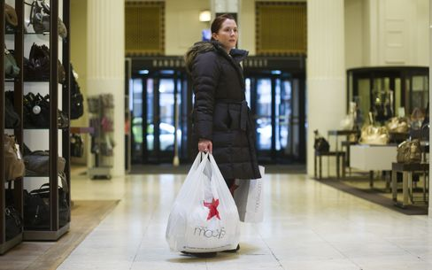 Consumer Comfort in U.S. Rises to Highest Level Since '08