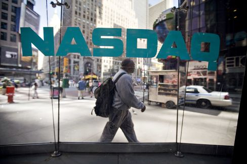 Nasdaq Marketsite in New York