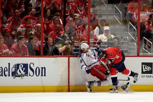 Capitals Beat Rangers as Senators Win in NHL Playoff Openers
