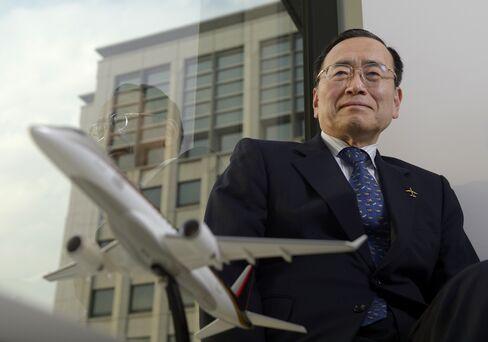 Mitsubishi Aircraft Corp. Chairman and CEO Hideo Egawa