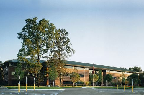 Valassis Communications Headquarters Stand in Livonia
