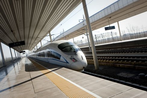 China Railway Corp. Plans First Train Orders of $8.2 Billion