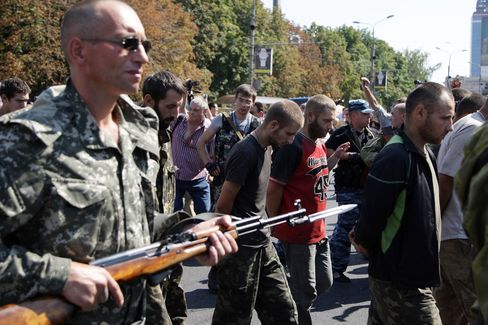 Pro-Russian Separatists in Donetsk