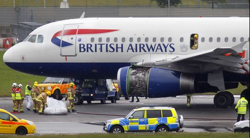 British Airways Jet Evacuated at Heathrow After Engine Fault