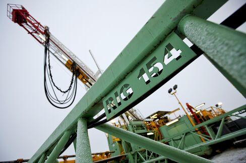 Rig at Encana Natural Gas Well