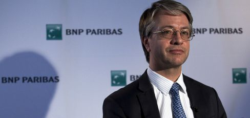 BNP Paribas CEO Jean-Laurent Bonnafe