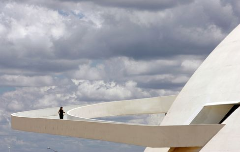 Oscar Niemeyer's National Museum in Brasília.