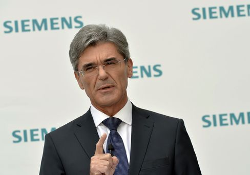 Siemens AG CEO Joe Kaeser