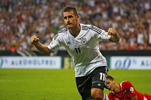 German Soccer Player Miroslav Klose