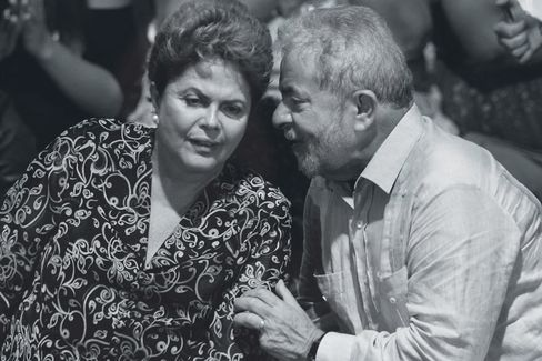 Dilma Rousseff and Lula