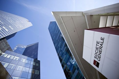 Societe Generale Posts Fourth-Quarter Loss on Newedge Writedown