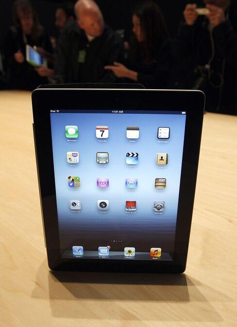An Apple Inc iPad