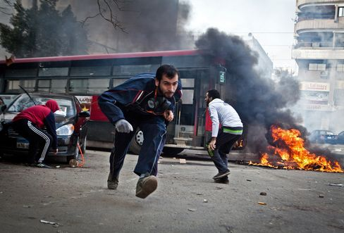 Clashes in Cairo