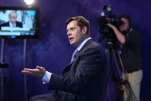 OAO Severstal Billionaire CEO Alexey Mordashov