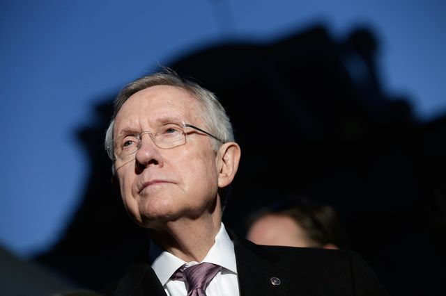 A deal Majority Leader Harry Reid could love. Photographer: Win McNamee/Getty Images