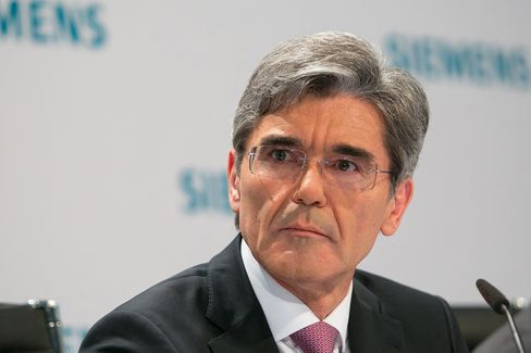 Siemens AG. CEO Joe Kaeser