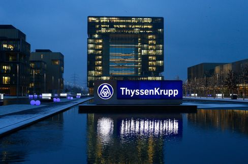 ThyssenKrupp to Cut 3,000 Jobs as Loss Widens on Writedown