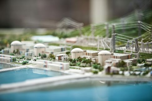Nuclear Plant Model in South Korea
