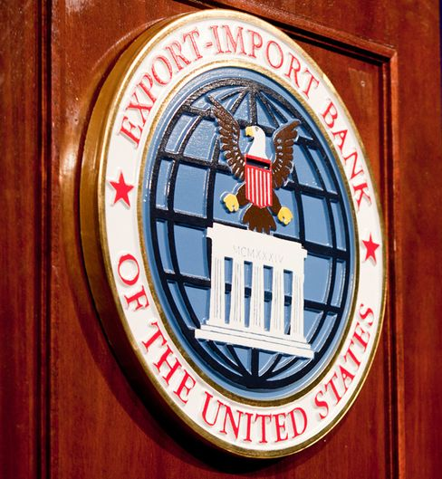 The Export-Import Bank has been around since the New Deal, helping U.S. businesses compete in the international marketplace. Photo: Andrew Harrer/Bloomberg