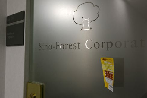 Sino-Forest Rises on Speculation Chandler Will Push Reform