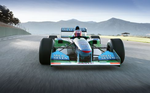 Benetton-Cosworth Ford