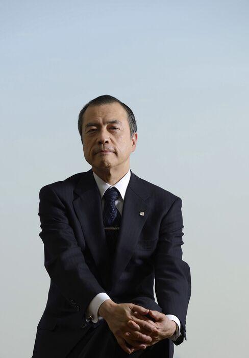 Tokyo Gas President Michiaki Hirose
