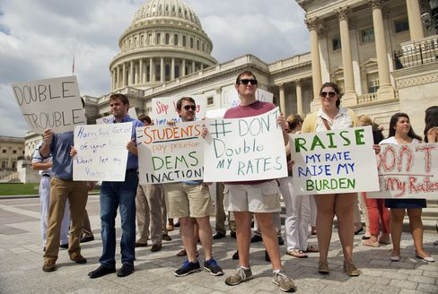Senate Has Tentative Agreement on Student Loan Interest Rate