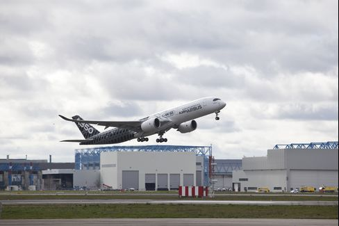 The New Airbus A350 Wide-body Plane