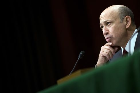 Lloyd Blankfein's business model was ideal for a period of high leverage and low regulation, producing average annual profits more than double those achieved under his predecessor, Henry M. Paulson. Photographer: Jim Watson/AFP/Getty Images
