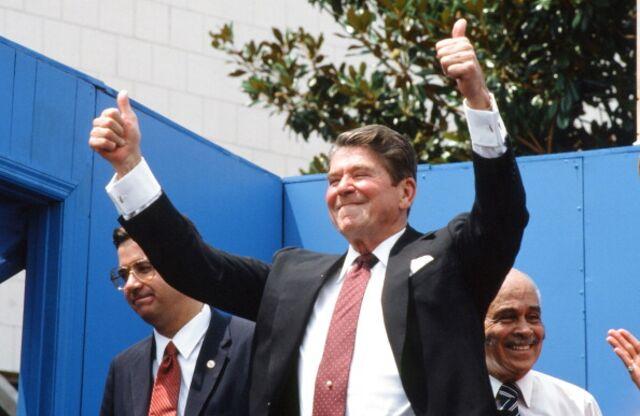 Ronald Reagan, still a star.