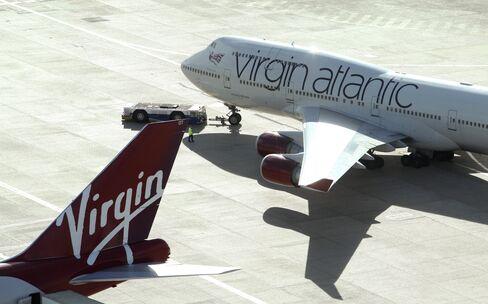 Delta Air Seen Tempted by Richest Travel Market Via Virgin Stake