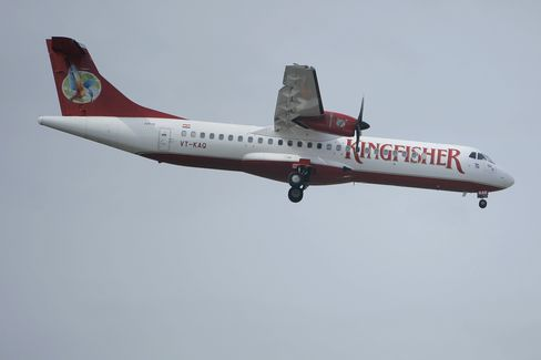 Kingfisher Air Posts Wider Loss on India Fuel Costs