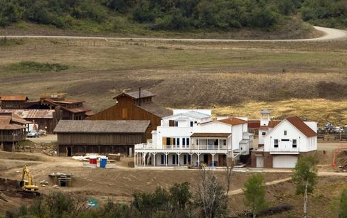 Billionaire Koch Builds Frontier Town All His Own Near Aspen