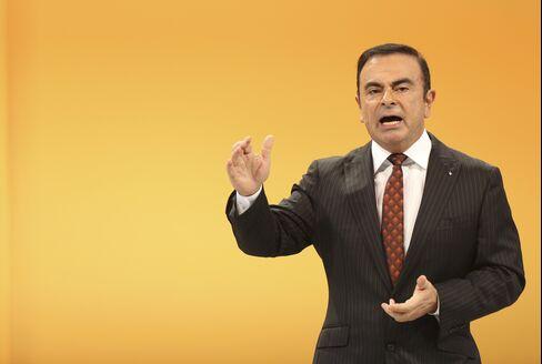 Renault SA Chief Executive Officer Carlos Ghosn